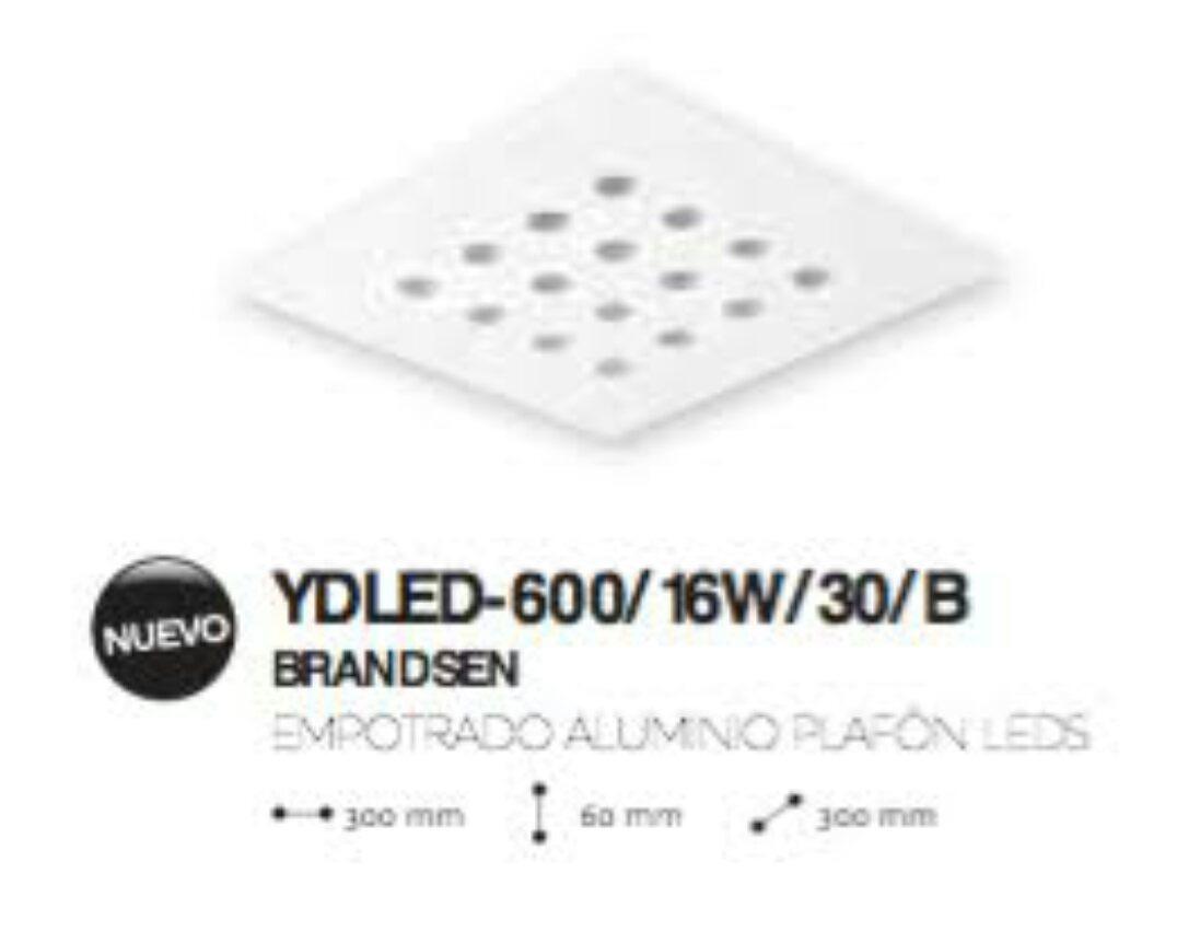 Luminaria Led Empotrable Tecnolite 16w Plafon Cálido Envíogr $ 875 00 en Mercado Libre