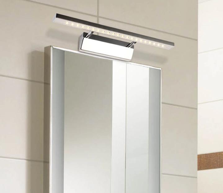 Luminária Led Para Banheiro Parede Espelho Bivolt Bco Frio