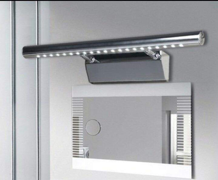 Luminária Led Para Espelho Banheiro Bivolt 21 Leds 40 Cms