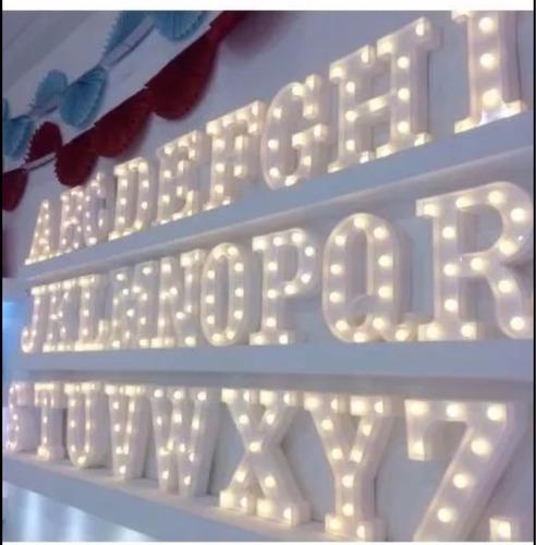 luminária letra s led decorativa luminoso festa decoração