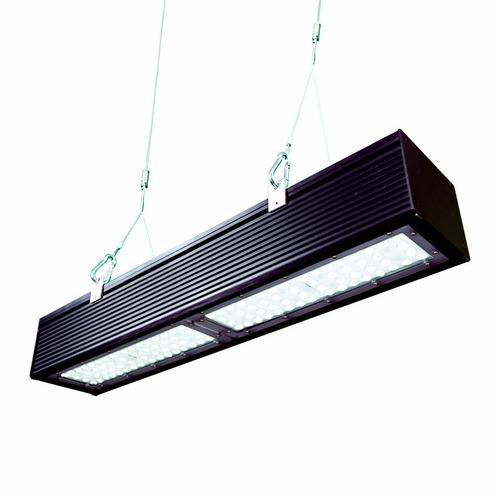 luminaria lineal industrial led high bay 80w luz blanca