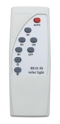 luminária lâmpada solar 40w + placa solar para casa de campo