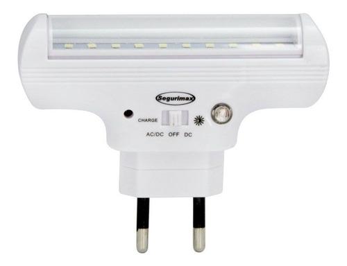 luminária luz emergência 60 lumens +fotocélula oferta p5
