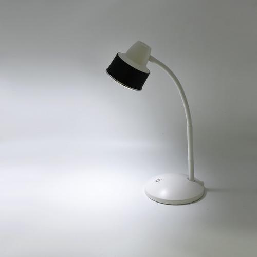luminaria mesa flexivel touch sem fio 3 níveis luz 24 leds