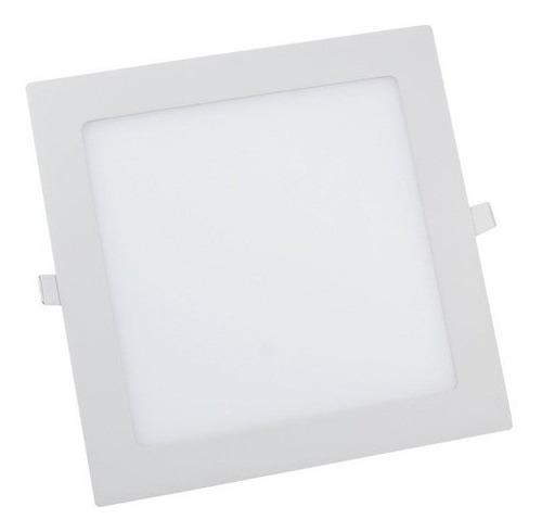 luminária painel plafon embutir 25w led 30x30 bivolt premium