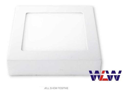 luminária painel plafon led sobrepor 24w 25w quarto sala