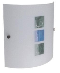 luminaria pantalla aplique plafón de vidrio de pared