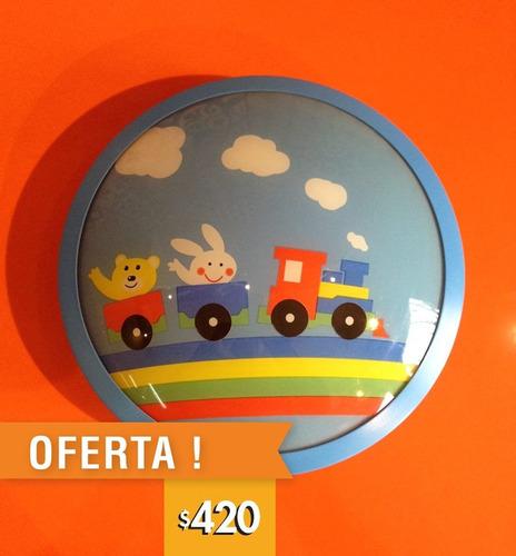 luminaria pantalla aplique plafón vidrio de techo infantil