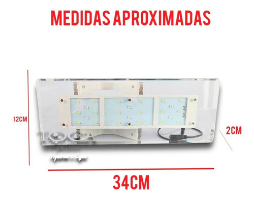 luminária para aquários led sunsun ad320 - bivolt