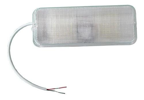 luminária para bateria 12/24v 72leds - camping, pesca, carro