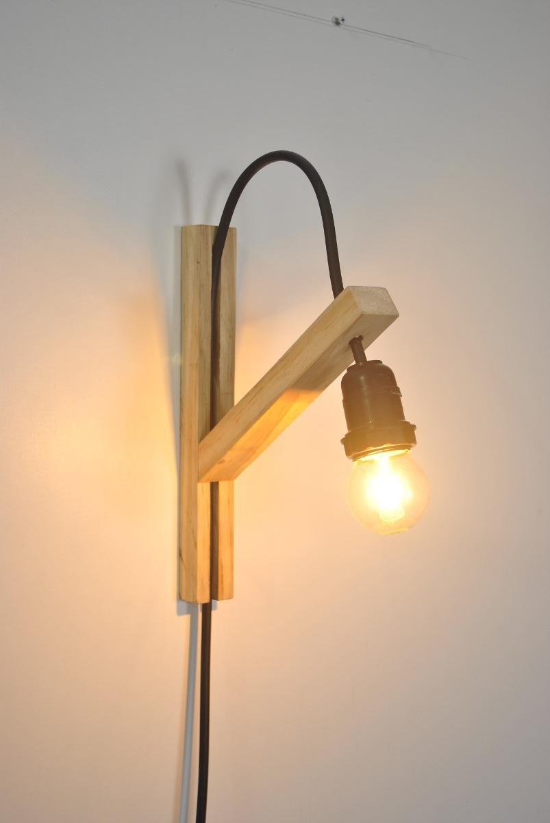 Luminria De Parede Para Quarto Luminria Avio Com Luz De Led Parede  -> Abajur De Parede Para Sala