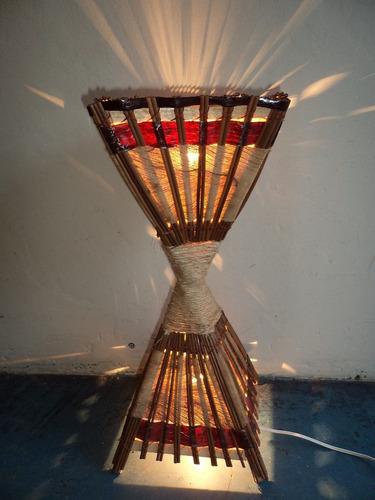 luminária pilão p,  luminária artesanal pico ds artes