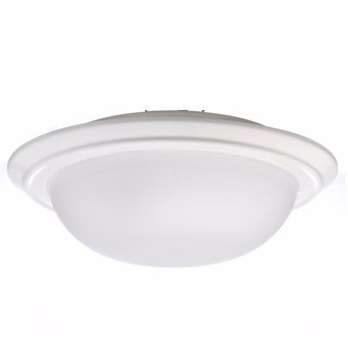 luminária plafon em base de alumínio