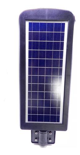 luminária publica poste energia solar 90w sensor e controle