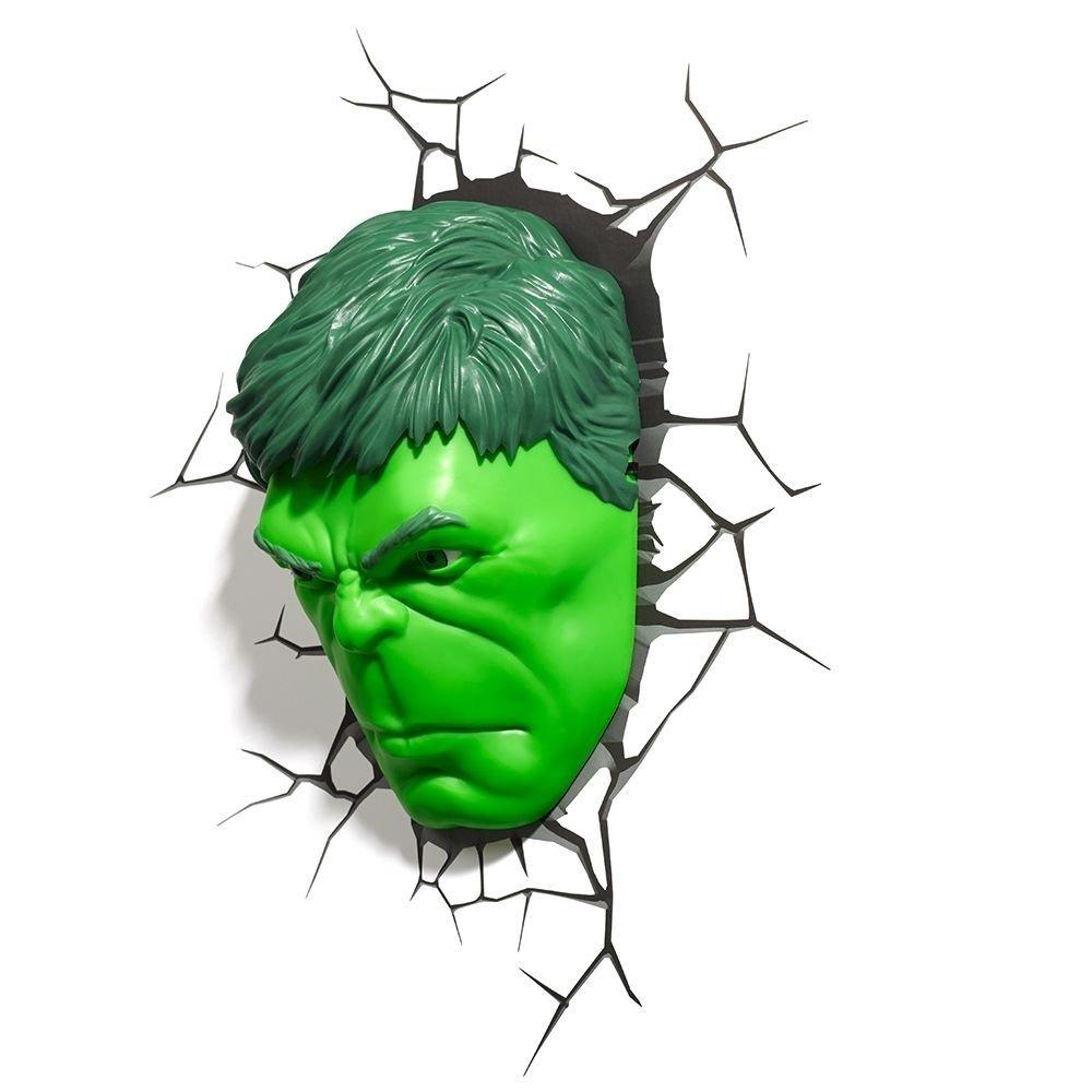 Luminaria Rosto Do Hulk Marvel R 219 90 Em Mercado Livre