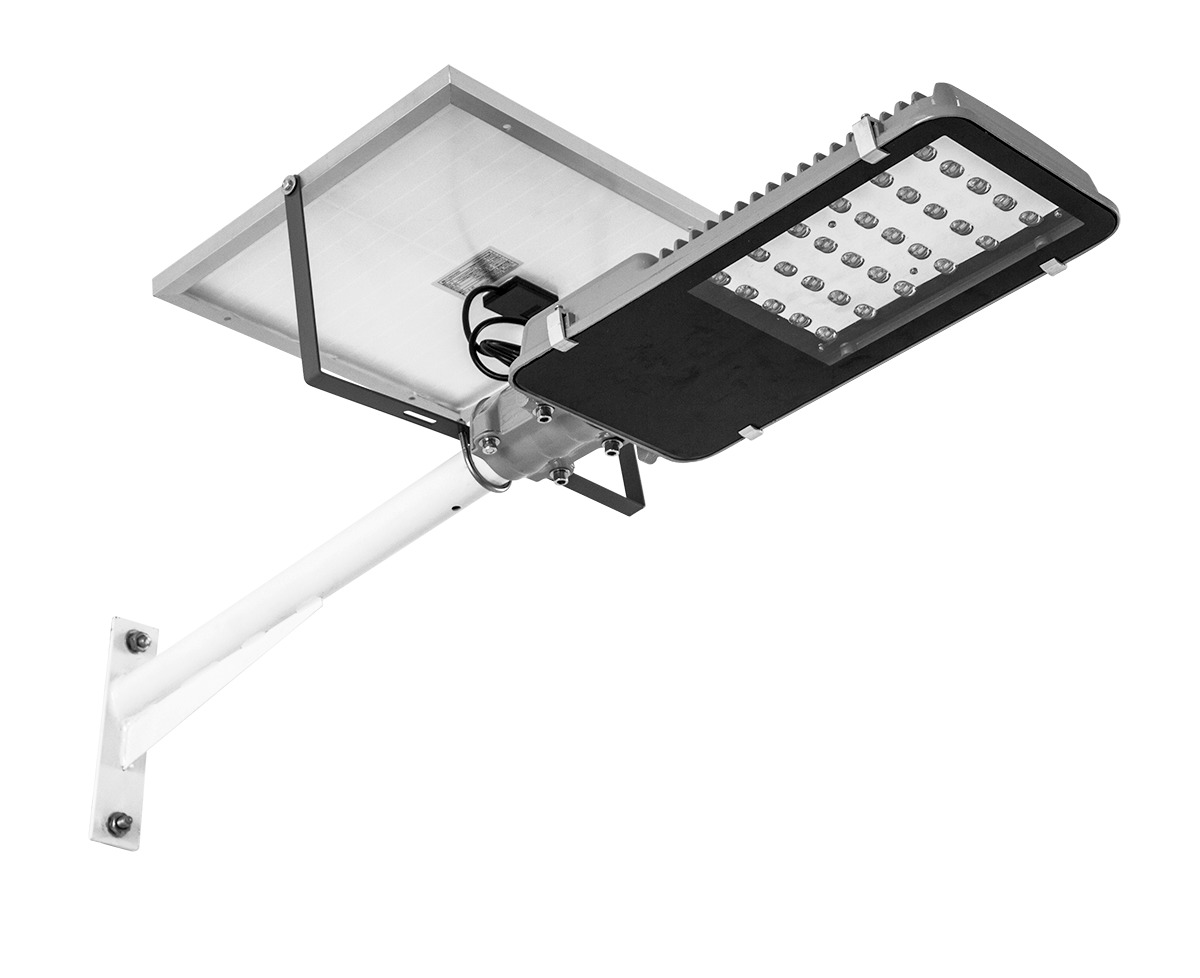 Luminaria solar alumbrado publico 15w panel solar for Alumbrado solar exterior