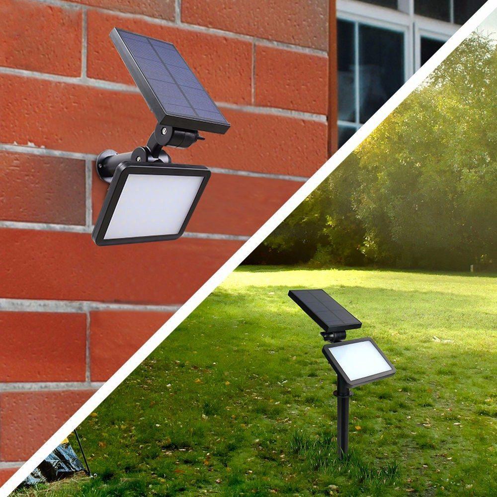 Luminária Solar Fotovoltaica -960 Lumens- Jardim E Afins - R$ 179 ...