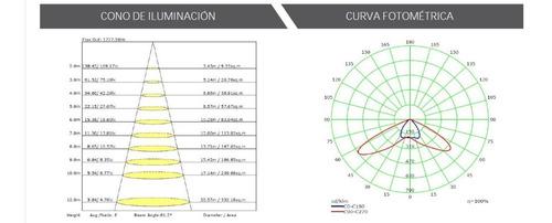 luminaria solar led 30w todo en uno retilap p/ poste o muro