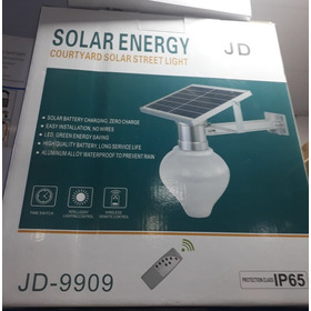 Luminária Solar Led Controle Remoto Watts 150000