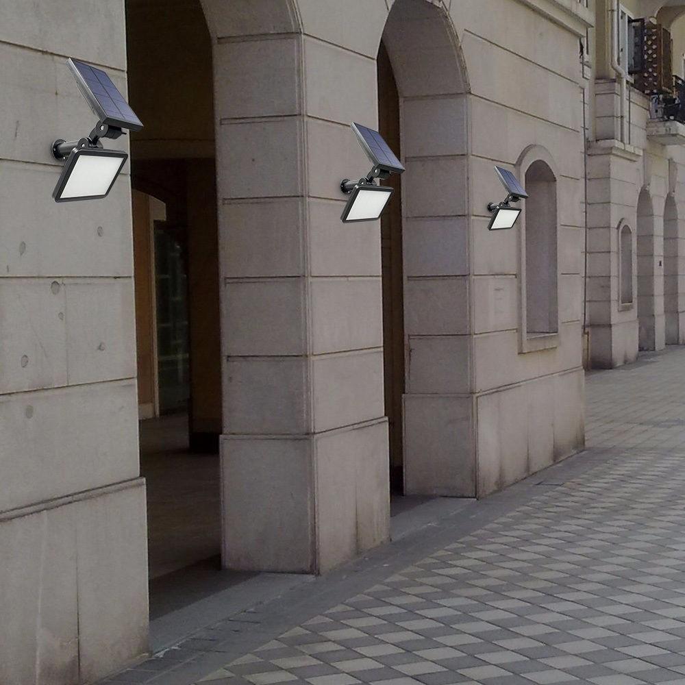 Luminaria Solar Parede E Jardim 48 Leds 15 Metros R 169 38 Em