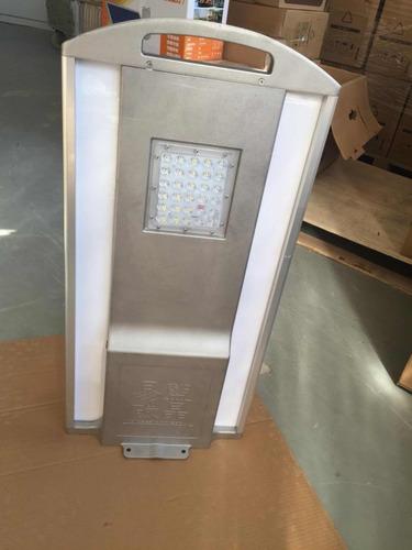luminaria solar,2100lm,luz fija +12horas, ilumina 165 watts