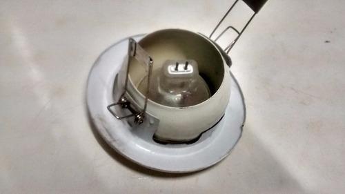 luminária suporte lampada  dicroica