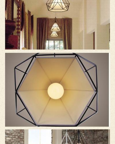 luminaria teto pendente