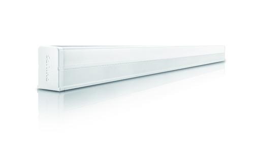 luminaria tira de led linea philips blanca luces led 9w
