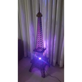 Luminária Torre Eiffel Mdf 1 Metro De Altura