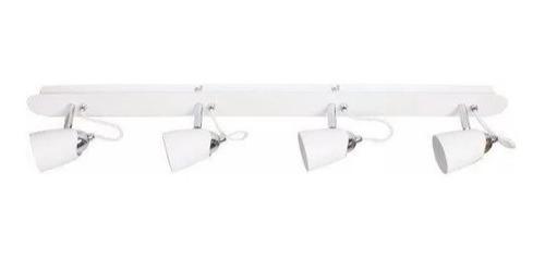 luminária trilho fuoco p/ sala cozinha quarto banheiro 4 luz