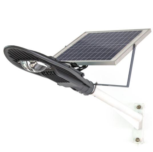 Luminaria urbana solar led 60w alumbrado publico alto for Alumbrado solar exterior