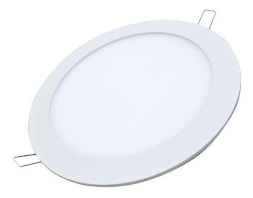 luminarias circular led de embutir 12w electricaboulebard