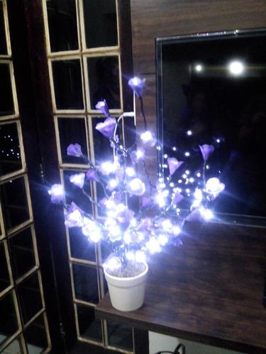 luminárias led / árvore flor de tecido modelo imaginarium