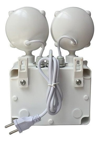 luminárias luz lâmpada de emergência qualidade solarled 2 pç