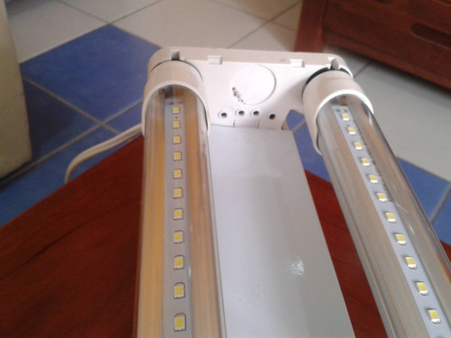 luminario gabinete incluye dos tubos led 18w ¡remato!