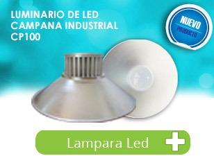 luminario industrial 100 watts cp100 ¡sorprendete!