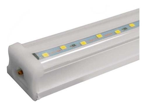 luminario led cuadrado con base integrada de 21w