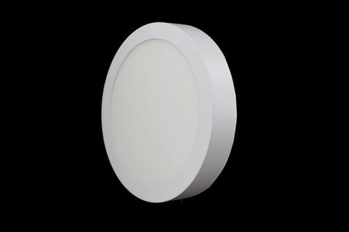 luminario led redondo de sobreponer 18w luz blanca adir