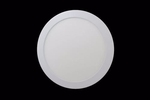luminario led redondo de sobreponer 18w luz cálida adir 5495