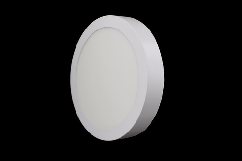 luminario led redondo sobreponer blanco 18w  adir 5494 5495