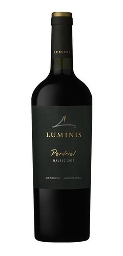 luminis perdriel malbec 2014 - caja x 6 botellas (750 cc)