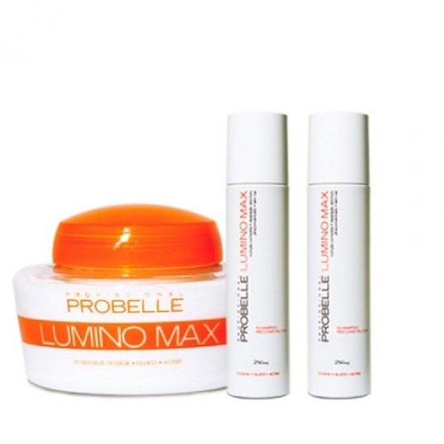 lumino max probelle kit (3 itens)