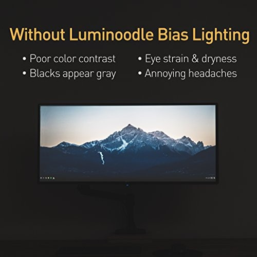 Luminoodle tv bias lighting small usb led light strip luminoodle tv bias lighting small usb led light strip aloadofball Choice Image