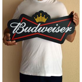 Luminoso Budweiser Luminaria Cerveja Bar Churrasco Led