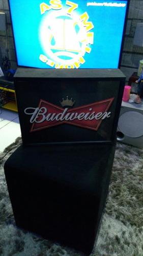 luminoso cerveja duversos budweiser led neon