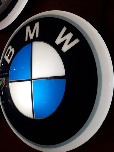 luminoso decorativo bmw p bar buteco garagem marcas de carro