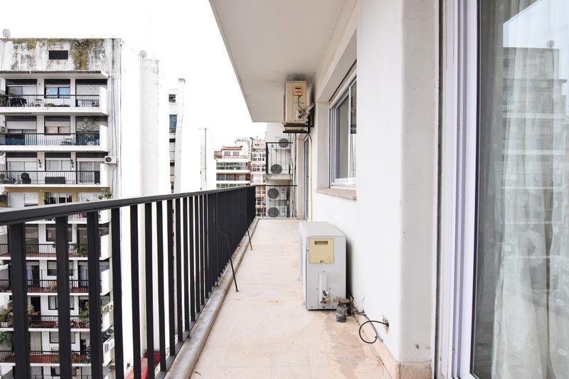 luminoso departamento de 4 ambientes - contrafrente - balcón - las cañitas