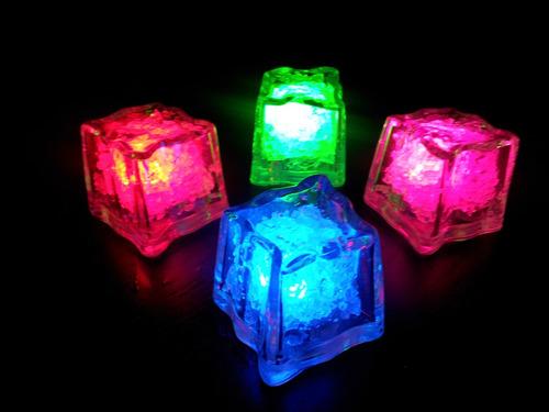 luminoso fiestas hielo