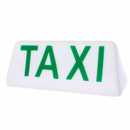 luminoso taxi com 2 imãs c/soquete