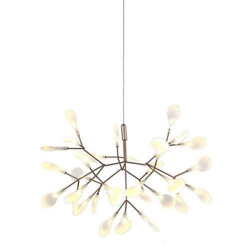 luminària pendente twing bronze + luz pe-071/48.30bro